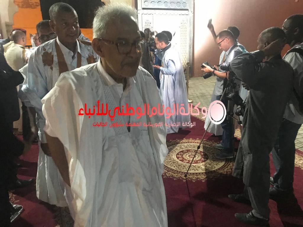 زعيم حزب التكتل أحمد ولد داداه يحضر احتفالات عيد العرش