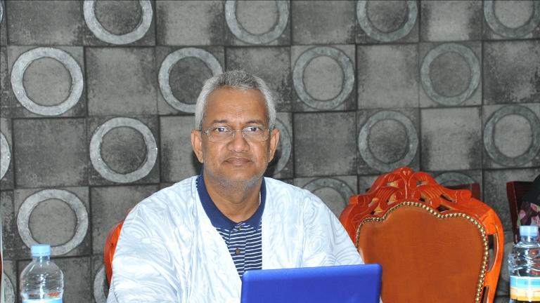الدكتور ديدي ولد السالك: رئيس المركز الموريتاني للدراسات الاستراتيجية