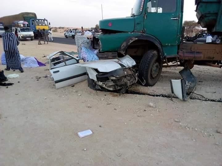 صورة من حادث الأمس