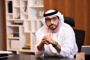 الاعلامي الاماراتي البارز محمد الحمادي / رئيس جمعية الصحفيين الاماراتيين
