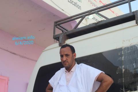 سيد أحمد ولد محمد، ممثل ساليمو فوياج