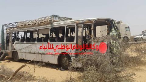 حادث سير راح ضحيته شخصين وعدة جرحى ـ الوئام