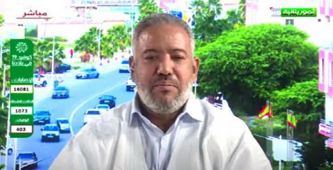 أحمد عل، رئيس رابطة عمد نواكشوط