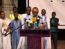الدكتور عبد السلام ولد حرمة في افتتاح حملة الانتساب